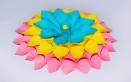 fiore loto carta