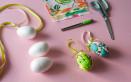 come decorare uovo polistirolo con stoffa, come decorare uovo polistirolo