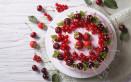 torte decorate ciliegie, decorazioni torte ciliegie