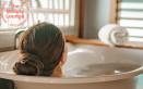 Ammorbidire la pelle durante il bagno