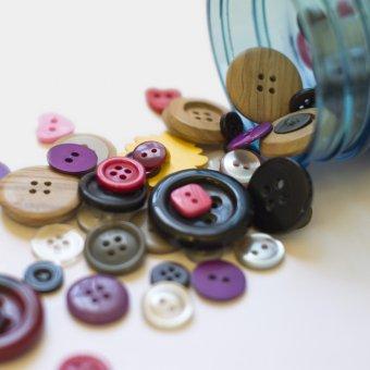 creazioni con bottoni