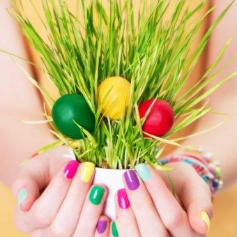 nail art, decorazione unghie, Pasqua
