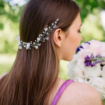 acconciature, matrimonio, damigelle