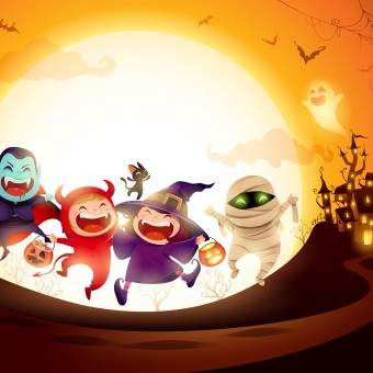 decorazioni halloween fai da te, decorazioni halloween da stampare, immagini halloween