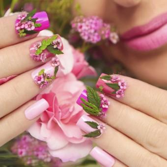 tendenze primavera 2019, nail art, decorazione unghie