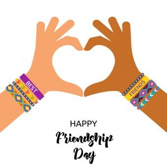 giornata mondiale dell'amicizia 2019, disegni, colorare