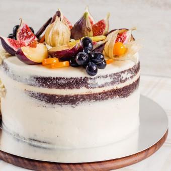 decorazioni torte autunno, torte tema autunno