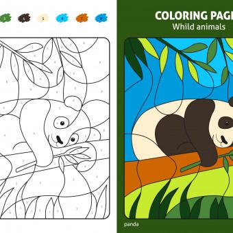 disegni da colorare con numeri, disegni da colorare, disegni con numeri