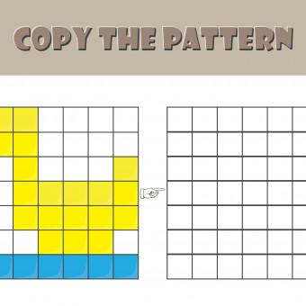 pixel art facile, schemi pixel art, disegni pixel art