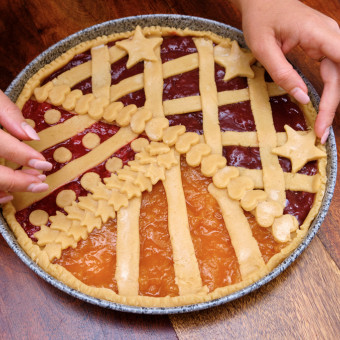 come decorare crostata marmellata, decorazioni crostata marmellata, decorazioni pasta frolla