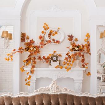 decorazioni autunnali fai da te foglie, decorazioni autunno foglie, decorazioni autunnali fai da te