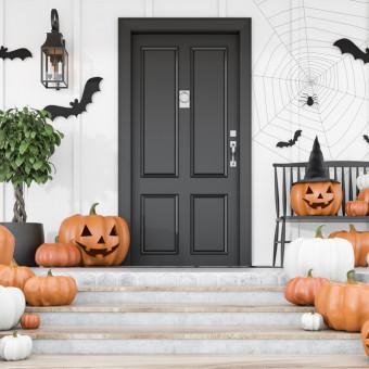 decorazioni halloween fai da te esterno, decorazioni halloween fai da te