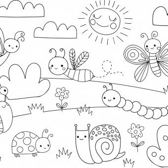 disegni da colorare estate, disegni estate