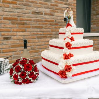 torte con rose in pasta di zucchero, torte decorate con rose