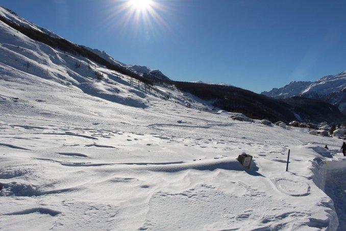 pattinaggio scalate piste da sci alpi francesi