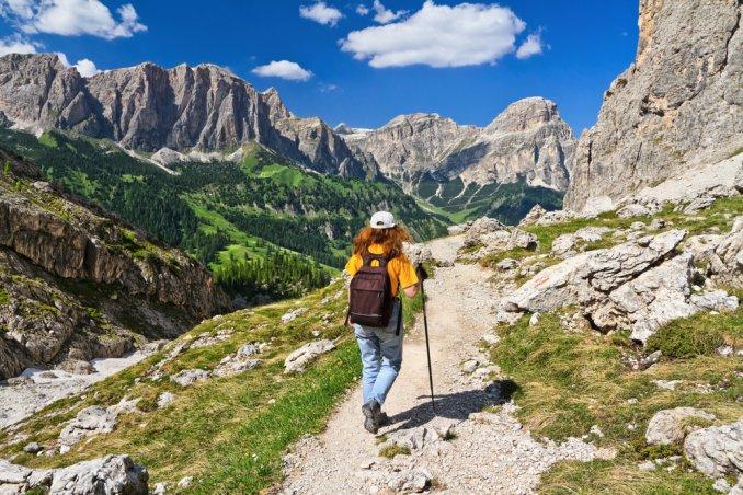 trentino trekking sport camminata