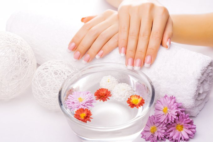 french manicure mani curate
