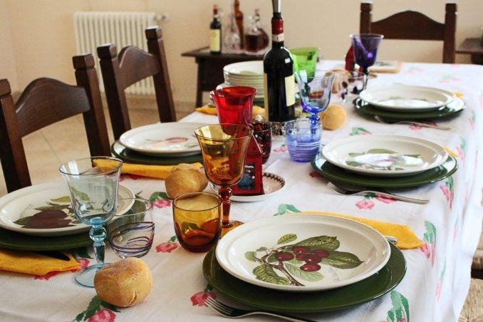 Come Si Prepara Il Tavolo Da Pranzo.La Tavola Della Domenica Donnad