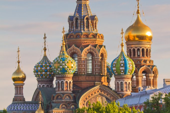 San Pietroburgo Russia Spas na Krovi chiesa