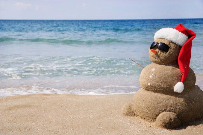 capodanno mare caldo sabbia estero oceano