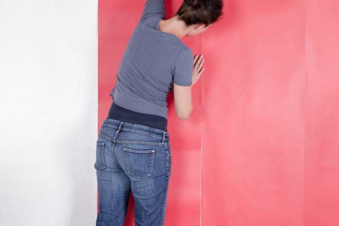 carta colla pareti parati pennello incollare bricolage