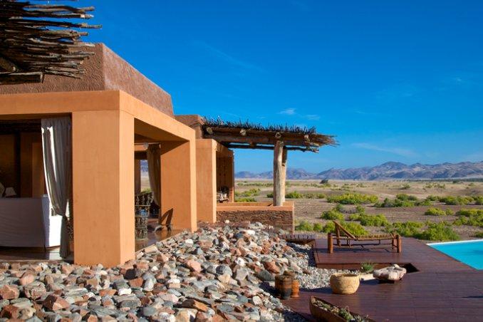Namibia Puros resort ecosotenibile