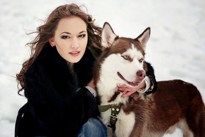 Vacanza cane animali neve relax passeggiate