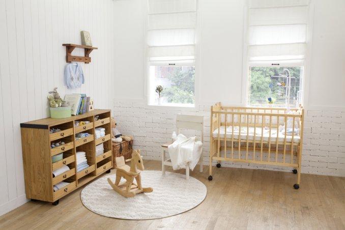 Colori Cameretta Bebè : La cameretta dei bimbi donnad