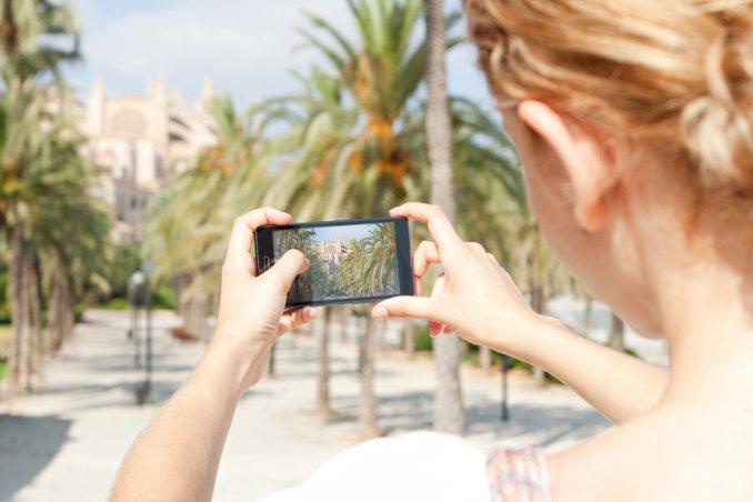 fotografare fotografia cellulare viaggio