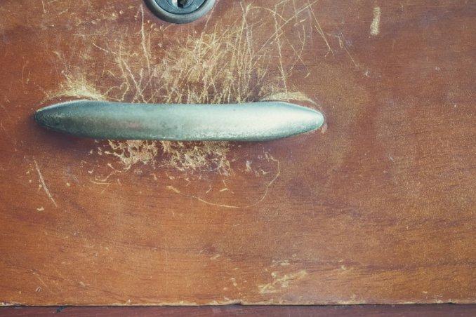 ceralacca mobili graffi fai da te noce legno
