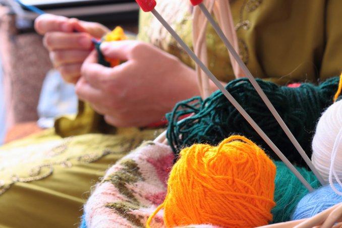 lavoro a maglia lana gomitoli