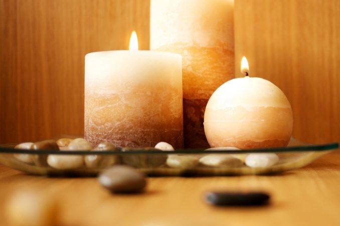 candela, decoupage, decoupage su tessuto, hobby, fai da te