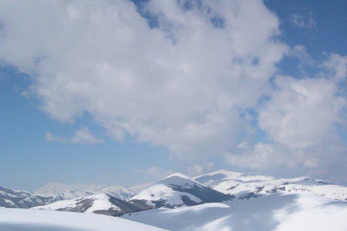 montagna, montagne, vette sogno