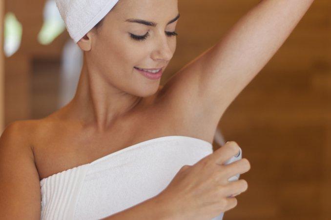 sudore deodorante freschezza estate