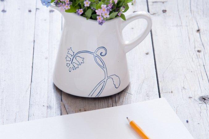 vaso, vasi, decoupage, hobby, fai da te