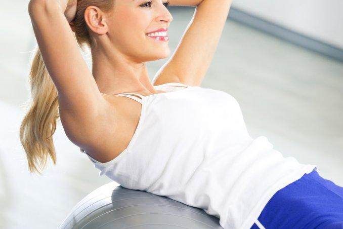 Esercizi per gambe, addominali e glutei