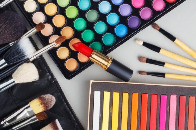 trucco, stile, make-up, tendenze