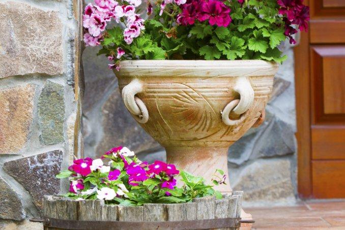 Anfore Da Giardino Grandi Vasi In Terracotta Da Giardino Di Qualita