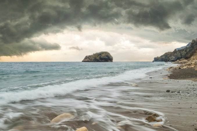 spiaggia tempo meteo pioggia k-way viaggi