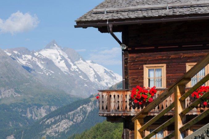 vacanza, rifugio, montagna, monti, donne, donna, caldo