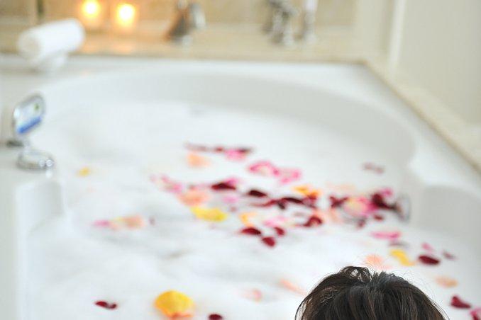 bagno relax salute benessere
