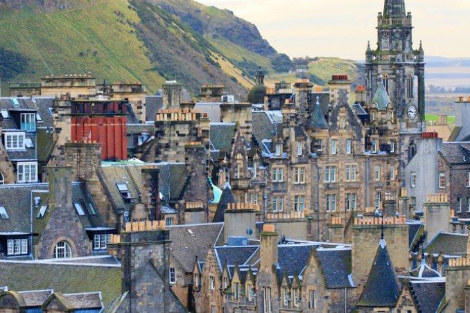 Scozia cornamusa Castelli Edimburgo whisky