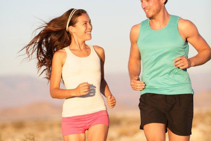 fitness jogging coppia corsa