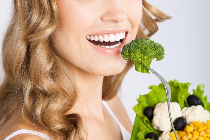 è importante avere un'alimentazione sana per avere capelli perfetti
