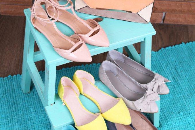 7 soluzioni creative per riporre ordinatamente le scarpe