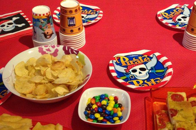 La festa di compleanno dei bambini