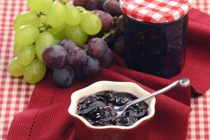 come fare la marmellata di uva