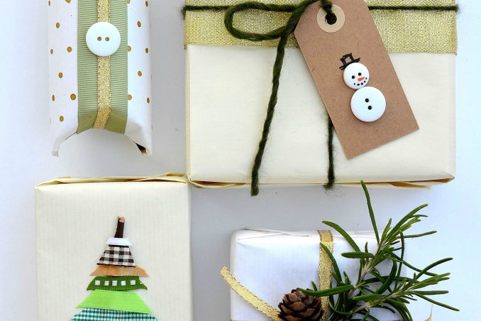 Pacchetti di Natale fai da te con Loctite Super Attak
