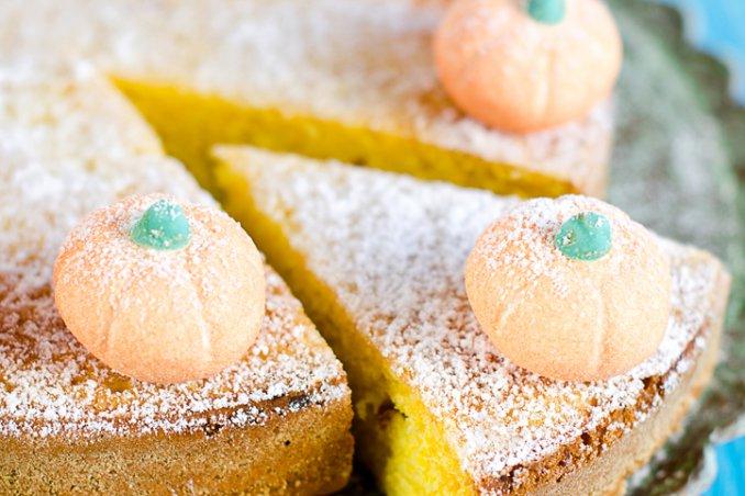 torta di zucca glassata