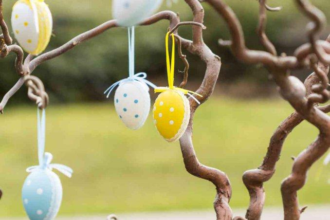Albero di pasqua fai da te idee e decorazioni donnad for Foto di alberi da colorare